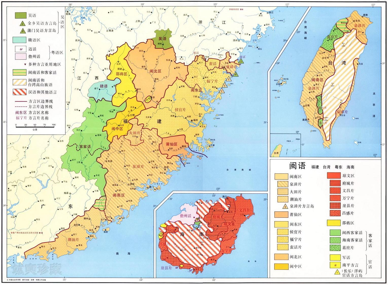 台湾东部手绘地图