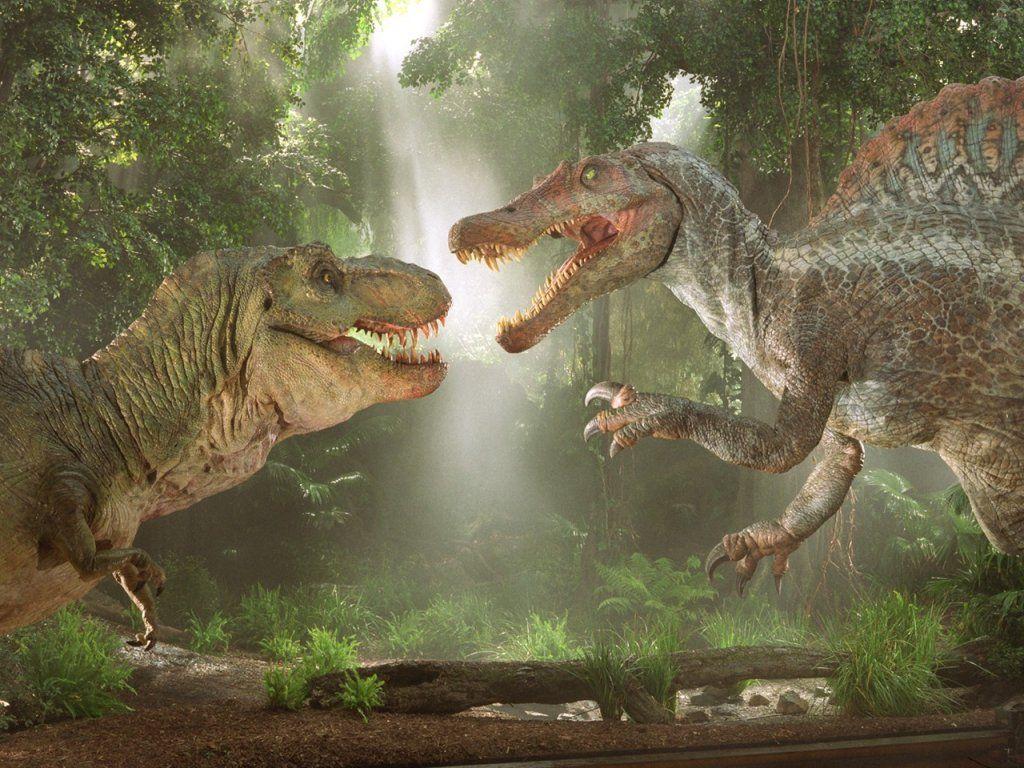 最厉害的恐龙:霸王龙,棘背龙