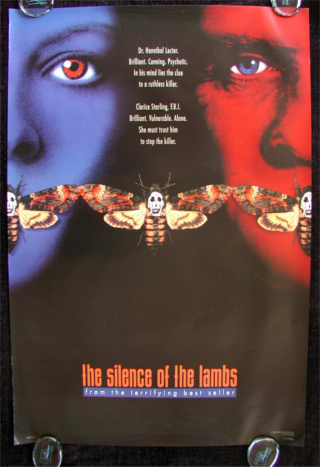 《沉默的羔羊》海报