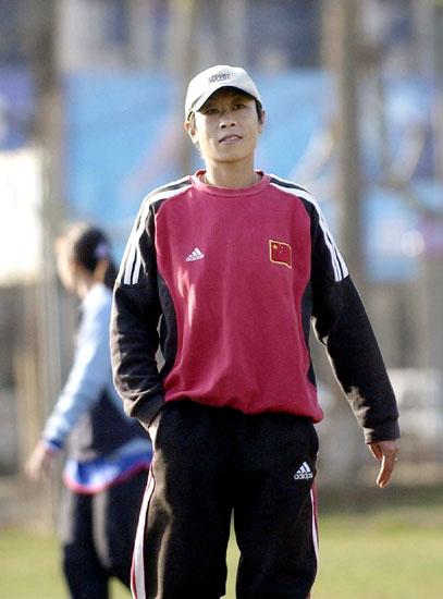 白洁中国女足运动员