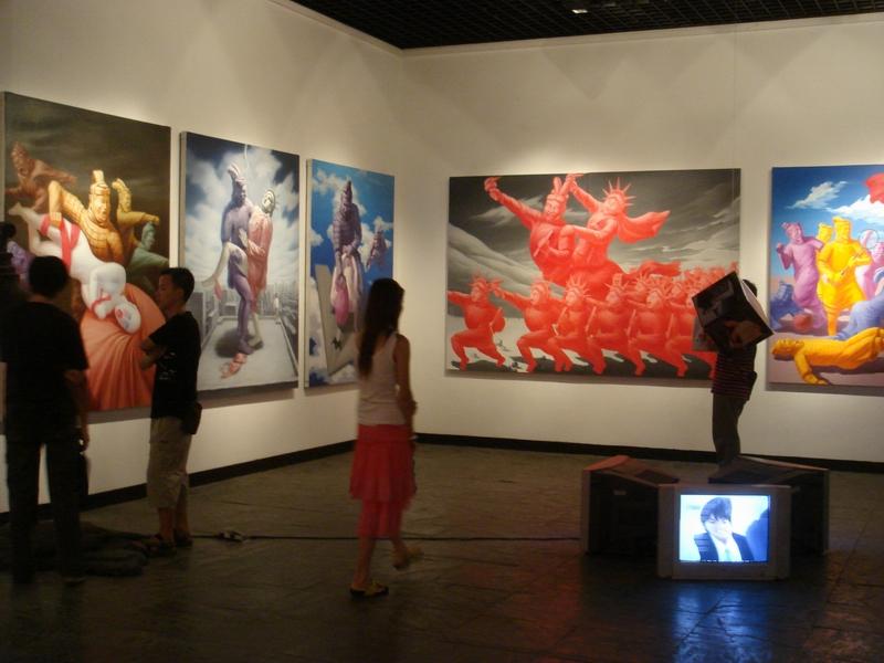 上海多伦现代美术馆展览图片