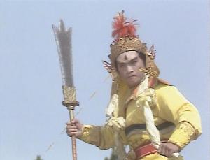 老版《西游记》中的杨戬图片
