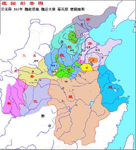 西汉的疆域地图
