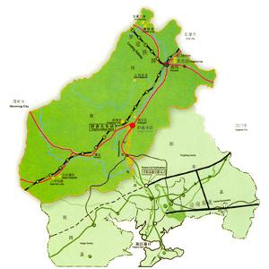 肇庆行政区划地图