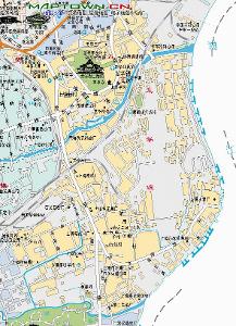 上海市徐汇区龙华镇地图