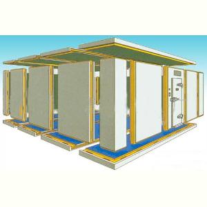 冷库建筑结构示意图