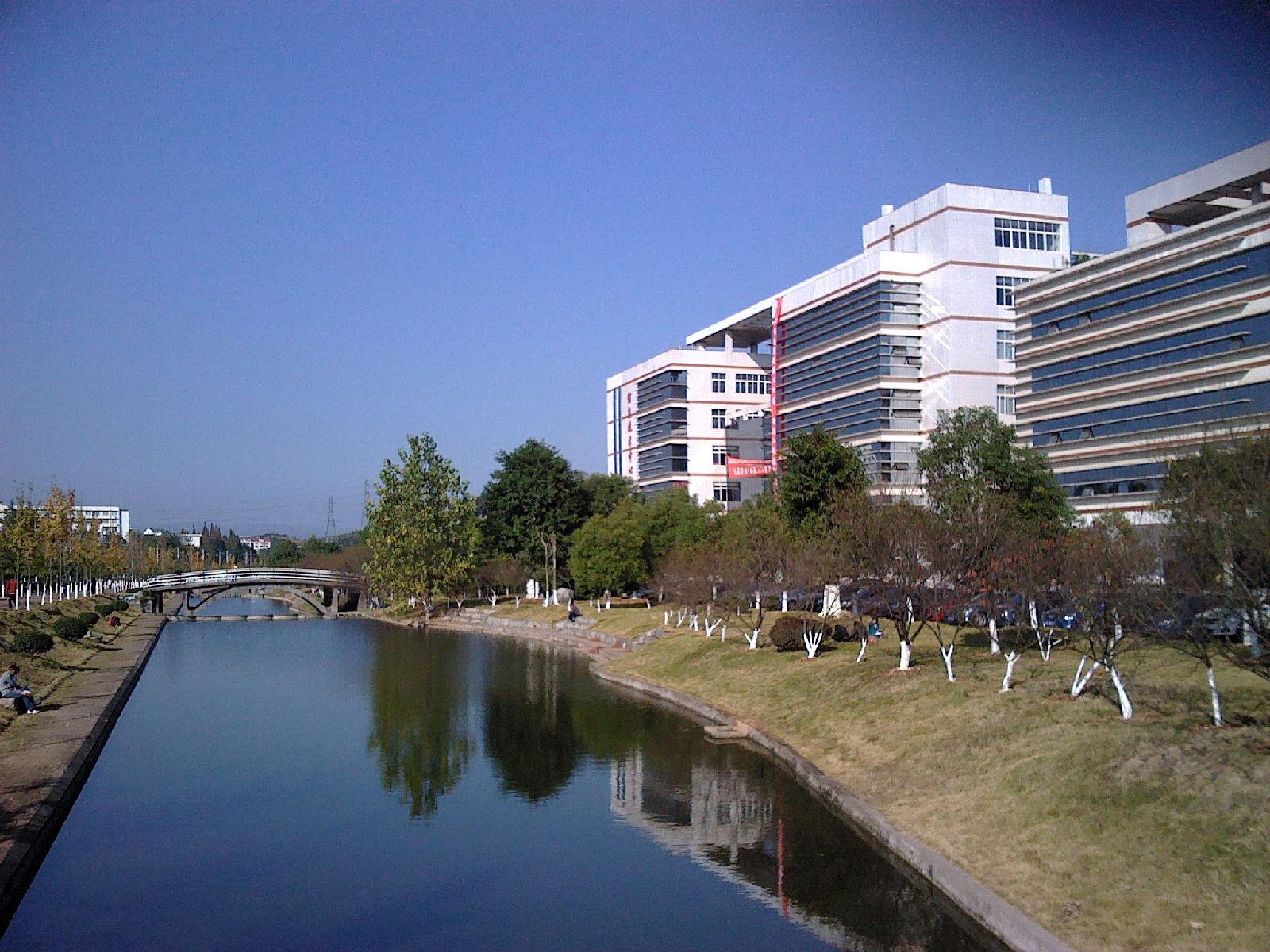 三峡大学校园风光