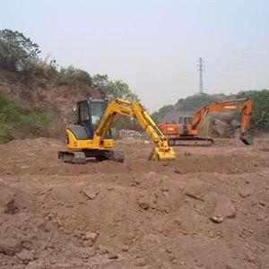 应用机电液一体化技术的全自动液压挖掘机的逐步发展过程.图片