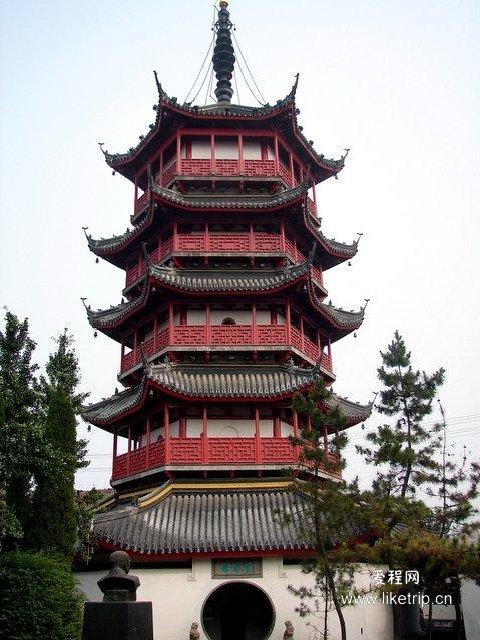 南通文峰塔风景