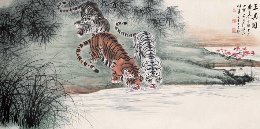 虎(大型猫科动物)