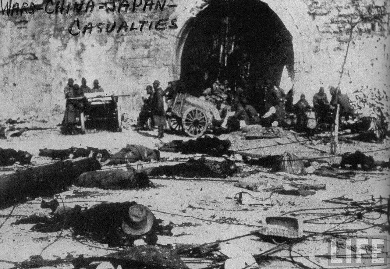 南京大屠杀的历史照片