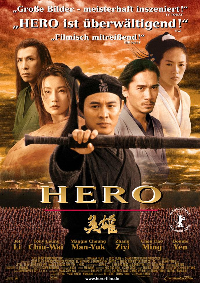 真正开启了中国电影大片时代的是2002年张艺谋导演拍摄的《英雄》图片