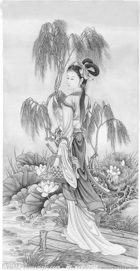西施(中国古代四大美女之一)