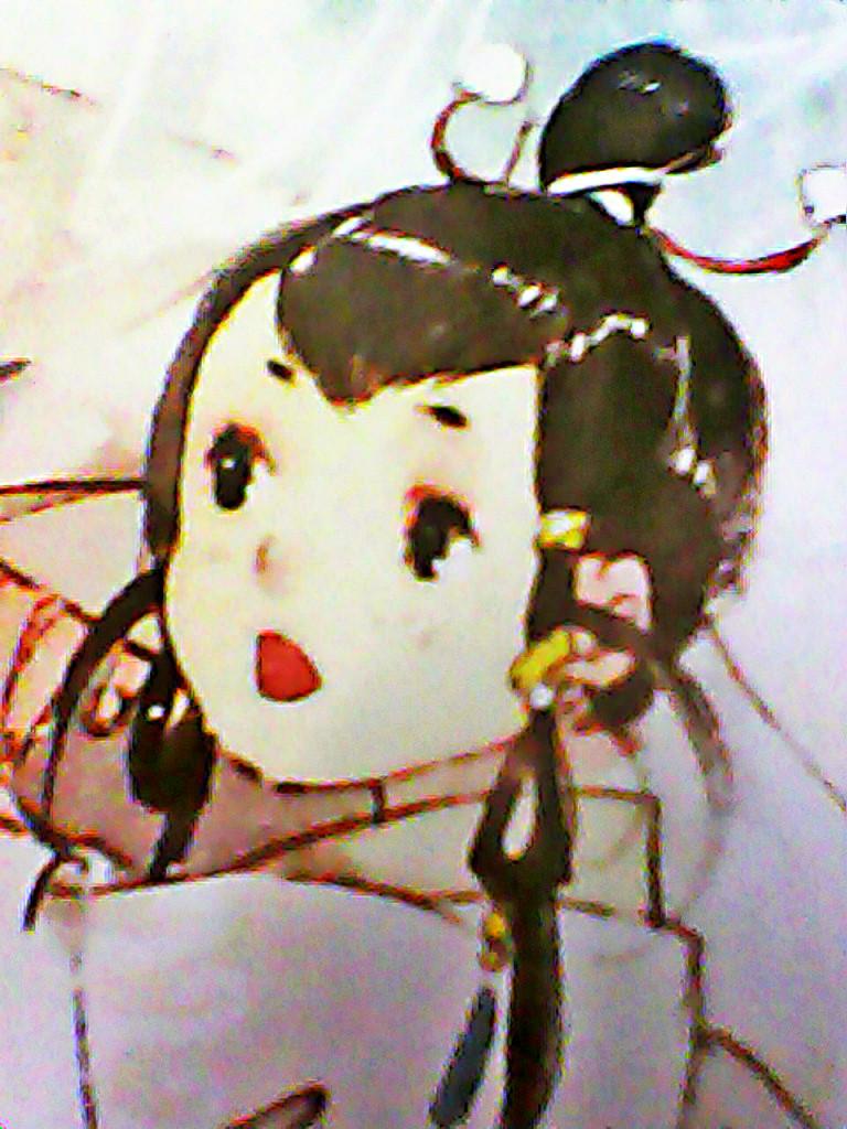 铅笔画白浅兽形