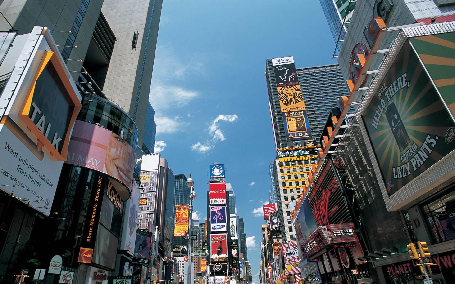 纽约建筑风景