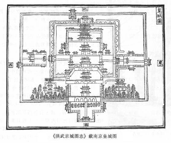 故宫平面图小学生手绘