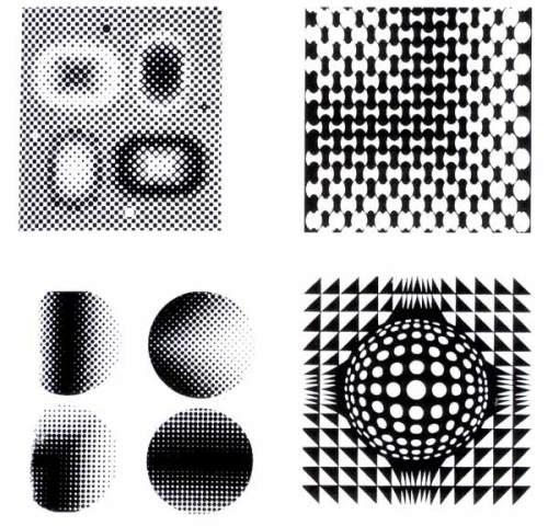 在平面设计中,点线面是必不可少的要素