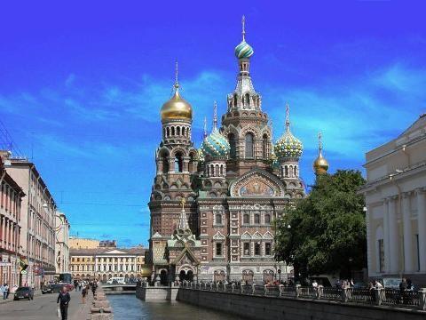 俄罗斯行——我心目中的圣彼得堡 - 太平洋 - 淡爱如烟的太平洋