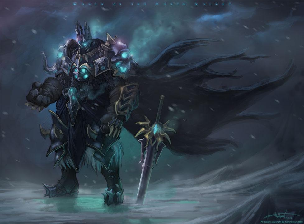 死亡骑士(《魔兽世界》种族职业) - 搜狗百科