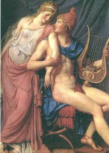 帕里斯和美女海伦