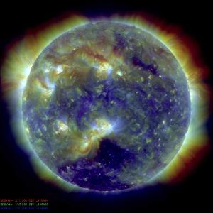 是太阳系中最大的连续结构