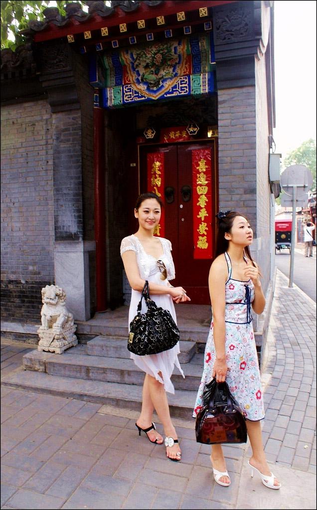 北京胡同女孩