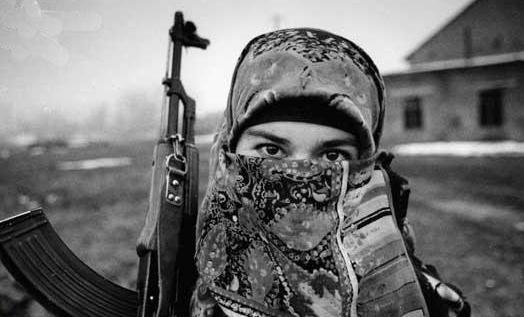 新疆和田斩首16女兵_黑寡妇(车臣恐怖分子)图片