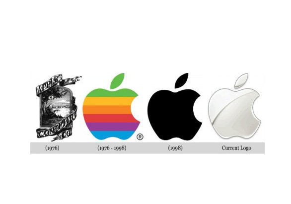 苹果公司logo变化