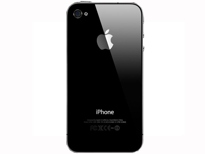 苹果ceo 史蒂夫·乔布斯 发布了第四代 iphone 手机