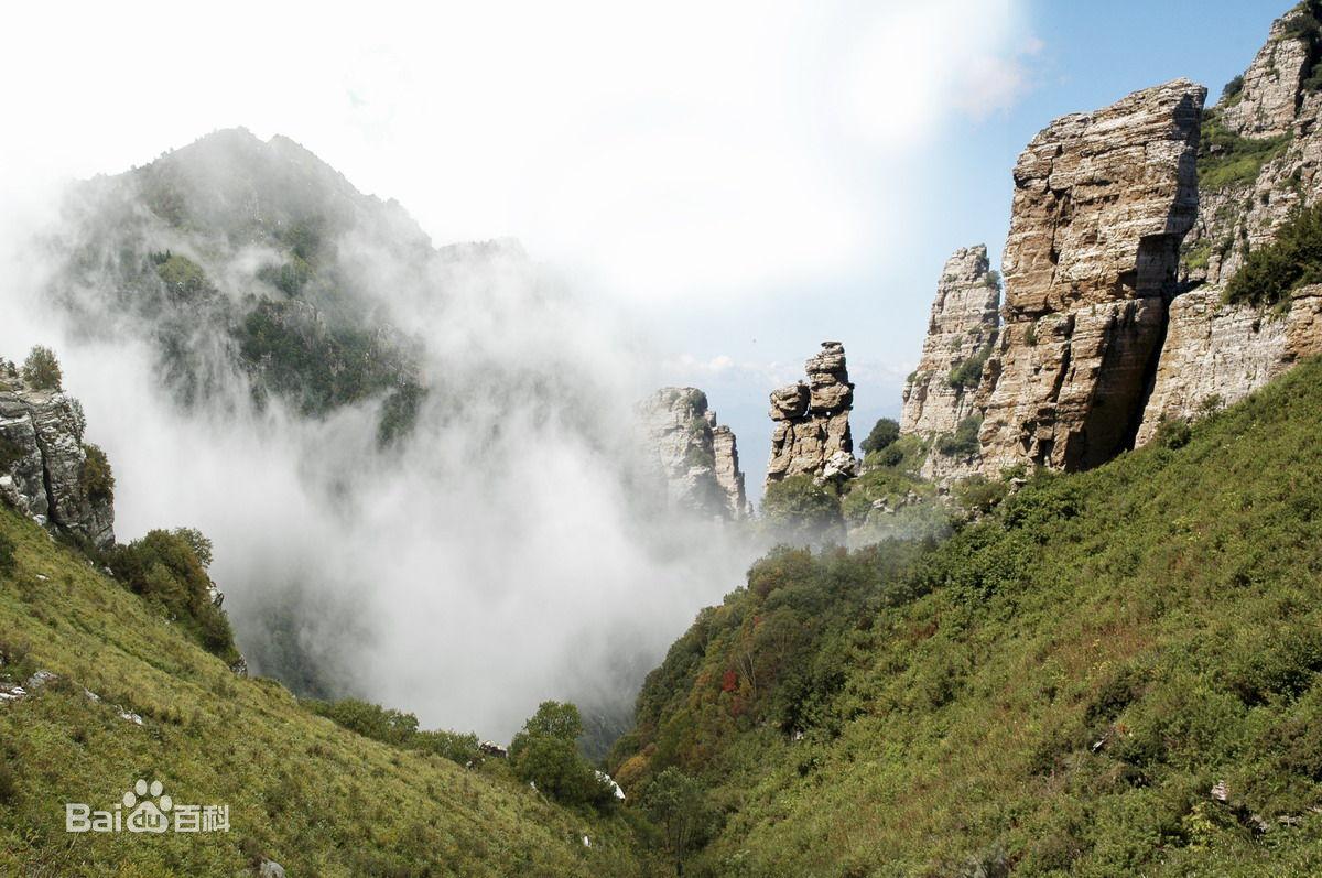 白石山风景区