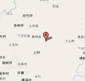 福建省永定县地图; 湖山乡(福建永定县湖山乡)