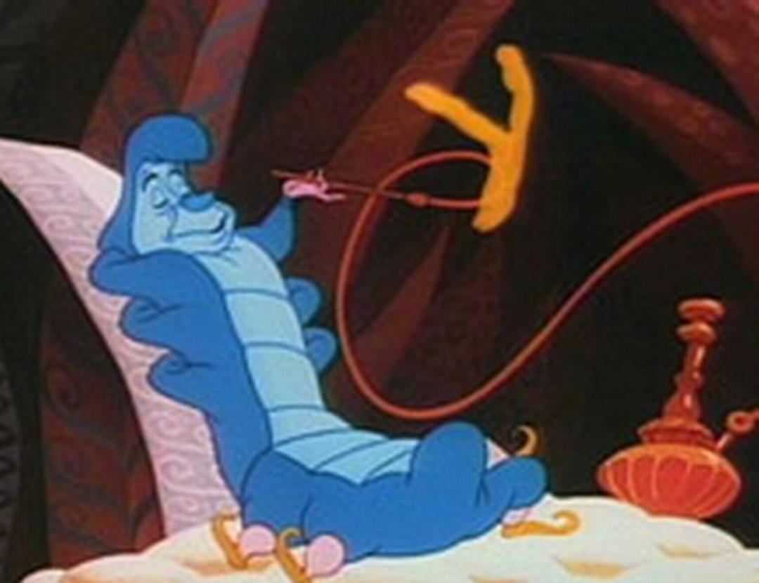 仙境香烟手绘图片