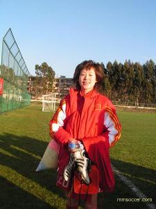 女子足球运动员张彤写真集