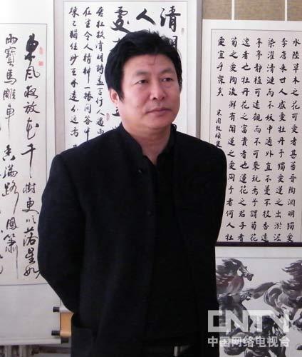 张建国,笔名;剑虢.内蒙古书法家协会会员