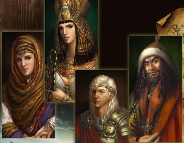 帝国文明游戏原画
