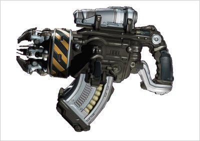 10連發射釘槍結構圖