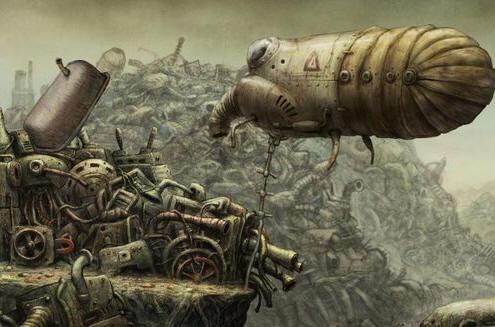 《机械迷城》游戏画面
