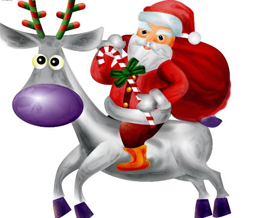 圣诞老人(西方国家传说人物)