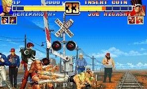 拳皇游戏场面图片