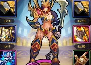 刀塔女神力量英雄