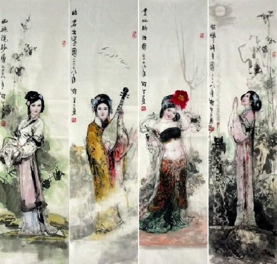 四大美女享有闭月羞花