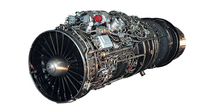 双路式航空涡轮喷气发动机