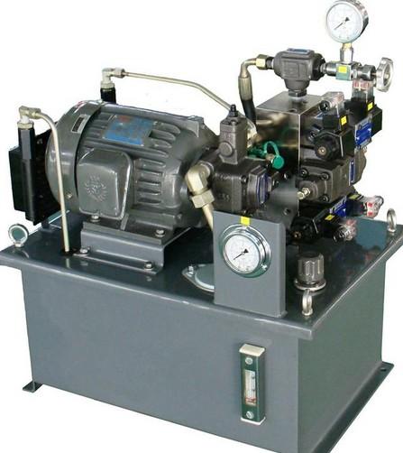 一个完整的液压系统由五个部分组成图片