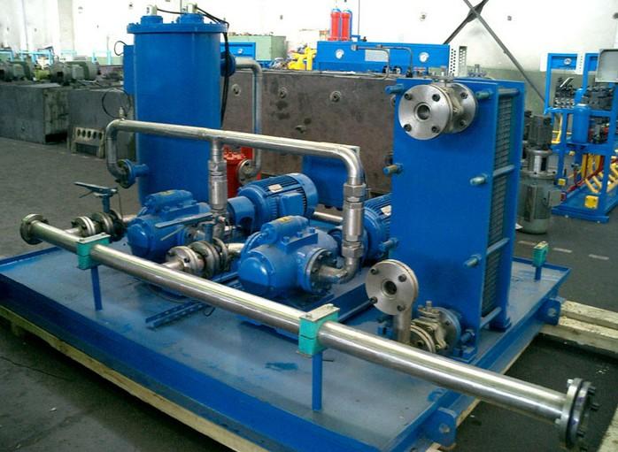 液压系统图片