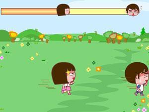 小游戏《女孩追男》