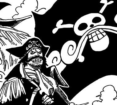 手绘海贼刀黑色素材