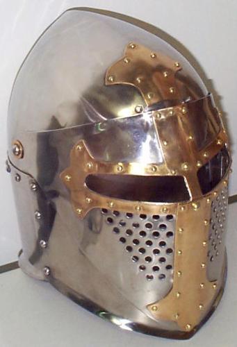 古代战士头盔手绘