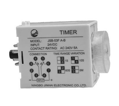 时间继电器可分为通电延时型和断电延时型两种