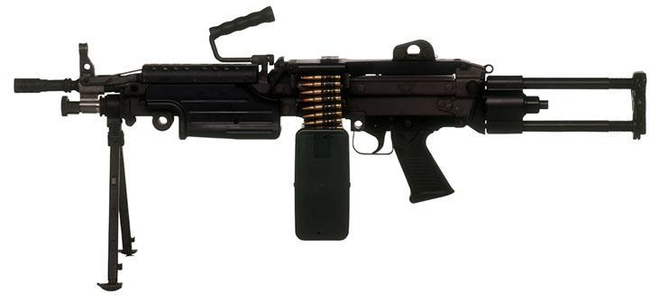 Light Machine Gun Saw m249机枪【图片 �...
