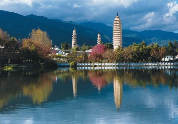 云南:大理三塔